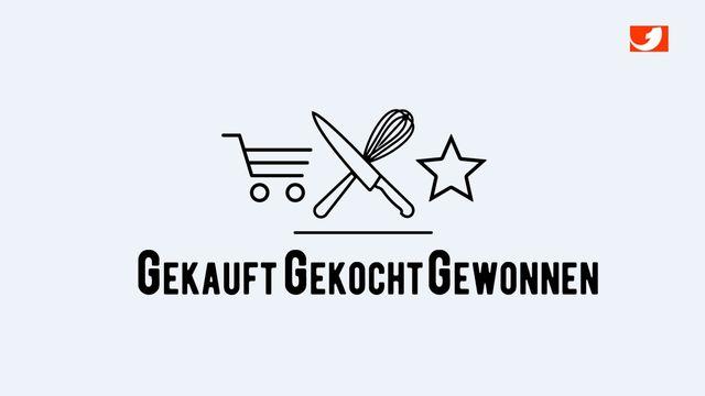 Logo gekauft, gekocht, gewonnen