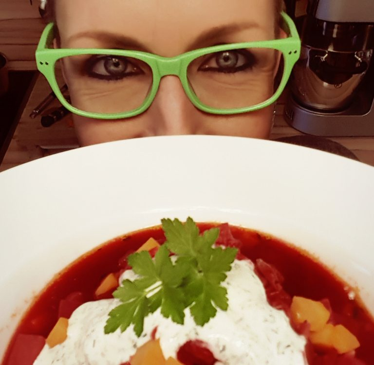 Pias Borschtsch ohne Fleisch